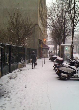 Rue du faubourg saint martin